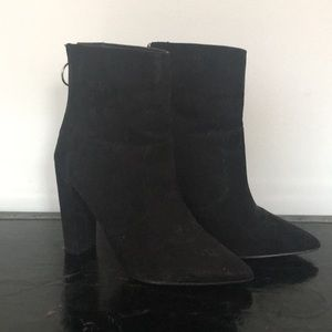 ASOS EVA Wide Fit Pointed Boots